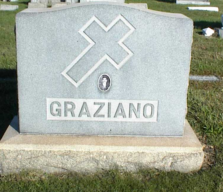 Photo of Graziano Families's Graves At Most Holy Redeemer Cemetery Section JJ in Baltimore, MD