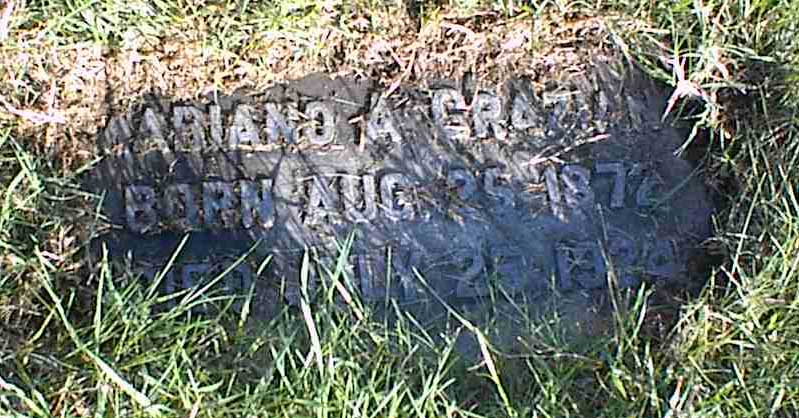 Photo of Mariano Graziano's Grave At Most Holy Redeemer Cemetery Section JJ in Baltimore, MD