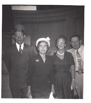 Photo of Antinio Graziano, Louisa Liberto, Joseph and Mae Graziano